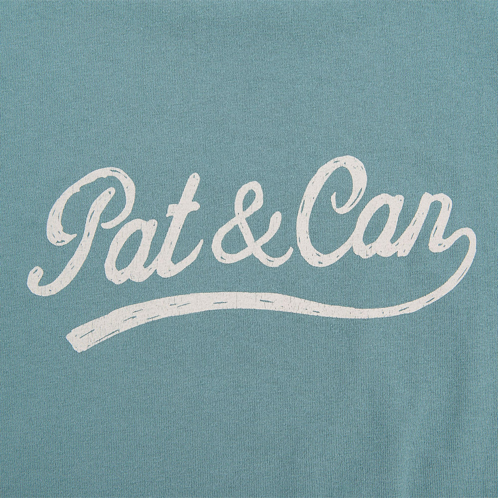 Camiseta Pat&Can - Faded Green