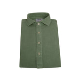 Polera lino100% V.8 Watercress