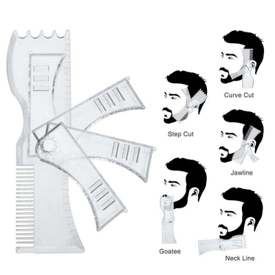 Housmile Adjustable Beard Shaping Tool - poweraddmall