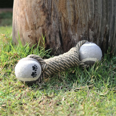 Cotton Rope Tennis Dumbbell Dog Toys