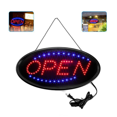 Oval LED Commercial Sign