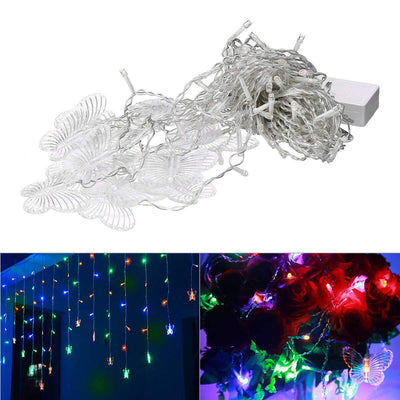 LED Butterfly Icicle Light