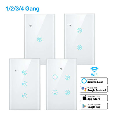 1/2/3/4 Gang Smart Light Switch