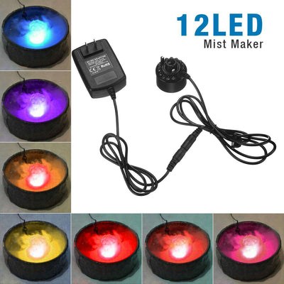 LED Ultrasonic Mist Maker