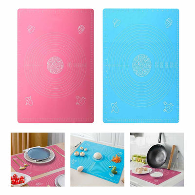 Multifunctional Silicone Dough Pad