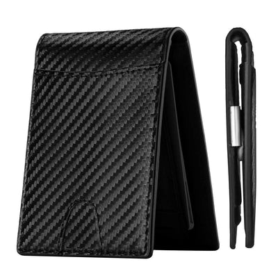 Leather Bifold Slim Men's Wallet