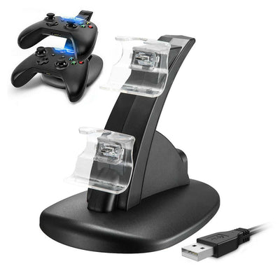 Dual Charging Dock Station Charger Stand