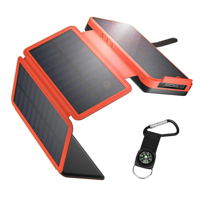 IEsafy Solar Power Bank 26800mAh Fast Charging