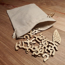 Load image into Gallery viewer, Four Leaf Clover | Wooden Puzzle | Entropy series | 46 pieces