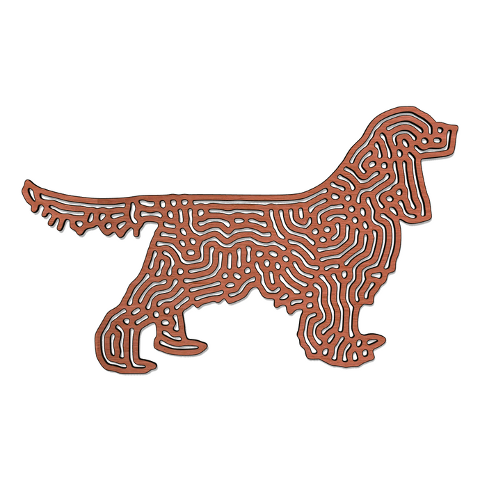 Engelse Cocker Spaniel Wanddecoratie