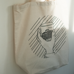 On the Rocks Recycled Canvas Tote Bag