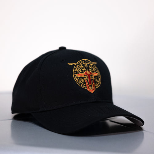 Black Baseball Cap with Holy Mtn. CxE Design