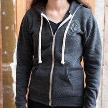 Load image into Gallery viewer, Washington Map Zip Hoodie