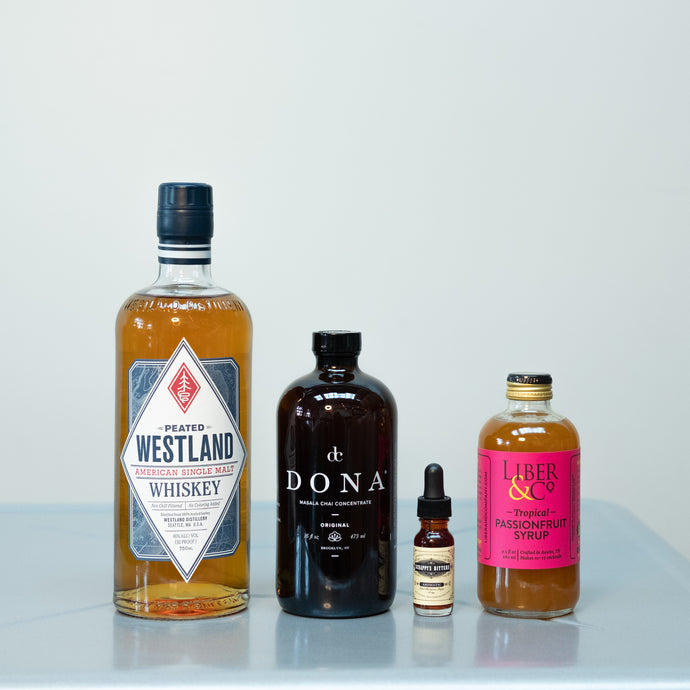 Mumbai Swizzle Cocktail Kit + Virtual Peat Week Cocktail Competition