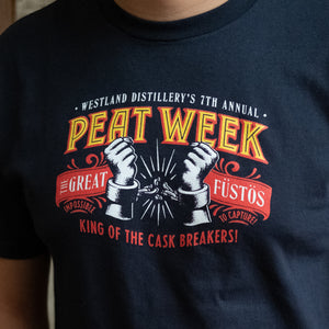 """The Escape Artist"" 7th Annual Peat Week T Shirt"