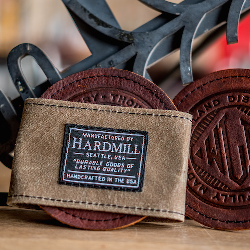 Hardmill Leather Coasters Set