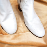 Load image into Gallery viewer, Tanino Crisci White Boots - Size 9 (43)