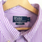 Load image into Gallery viewer, Polo by Ralph Lauren Striped Purple Shirt
