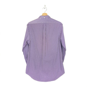 Polo by Ralph Lauren Striped Dark Purple Shirt