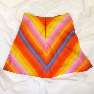 Hand Sewn Colorful Skirt
