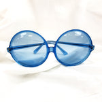 Load image into Gallery viewer, Blue Rare Vintage 60's Sunglasses