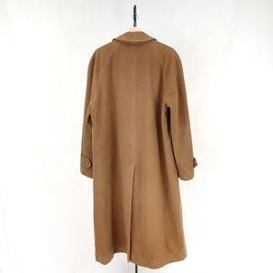 Burberry Brown Wool Coat