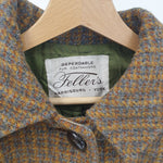 Load image into Gallery viewer, Feller's Harris Tweed Wool Coat