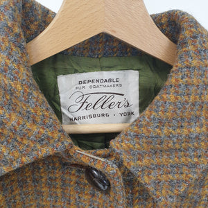 Feller's Harris Tweed Wool Coat