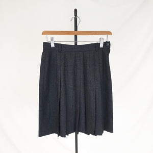 Max & Co Pleated Wool Skirt