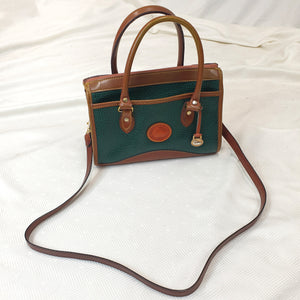 Dooney & Bourke Green Leather Hand/Shoulderbag