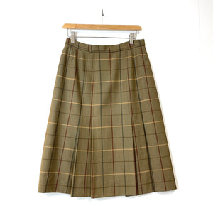 Burberrys Plaid Skirt