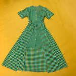 Load image into Gallery viewer, Checkered 90's Dress