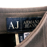 Load image into Gallery viewer, Armani Jeans Brown Skirt
