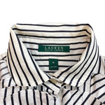 Load image into Gallery viewer, Lauren by Ralph Lauren Striped Ruffled Blouse