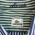 Load image into Gallery viewer, Lacoste Blue/White Striped Shirt