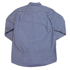 Lacoste Blue/White Striped Shirt