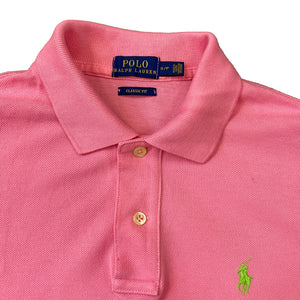 Polo by Ralph Lauren Bright Pink Polo Top