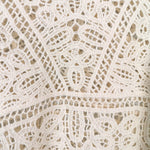 Load image into Gallery viewer, White Sleeveless Crochet Top