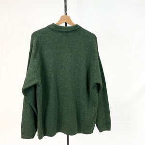 Lacoste Green Cardigan