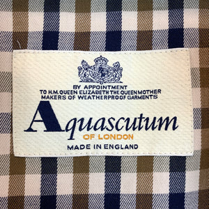 Aquascutum of London A-Line Trench Coat (thinner fabric)