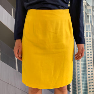 Yellow Cacharel Skirt