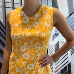 Load image into Gallery viewer, Yellow 60's Dress