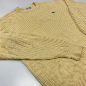 Yellow Lacoste Jumper