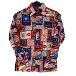 Load image into Gallery viewer, USA Theme Pattern Shirt