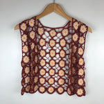 Load image into Gallery viewer, Flower Crochet Top