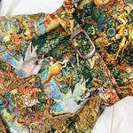 Load image into Gallery viewer, 70's Painting Print Dress