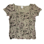 Load image into Gallery viewer, Giorgio Armani Fitted Olive Green T-Shirt