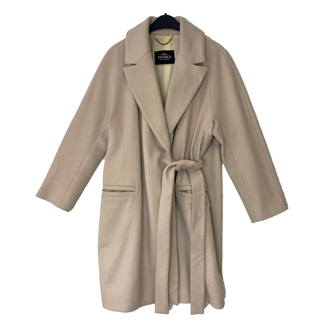 Max&Co Wool & Cashmere Belted Coat