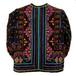 Load image into Gallery viewer, Vintage Saxton Hall Velvet Indian Print Jacket
