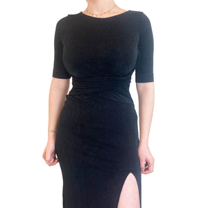 Vivienne Westwood Black Sparkly Party Dress